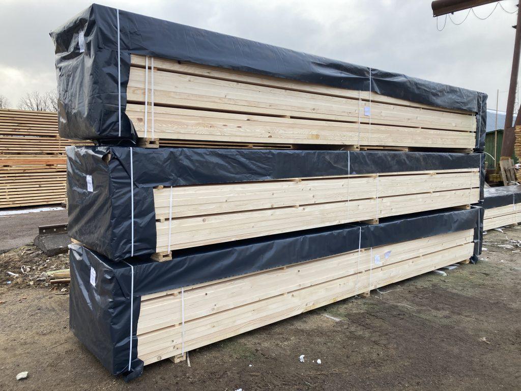 impregnuota mediena supakuota isvezimui